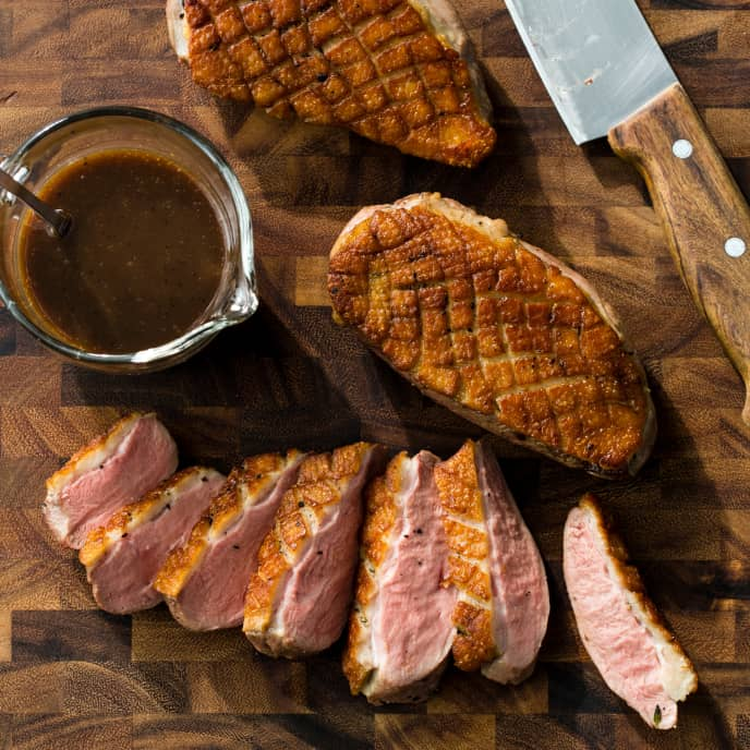 Sous Vide Duck Breasts
