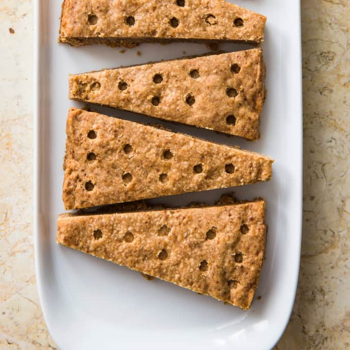 Spiced Shortbread (Reduced Sugar)