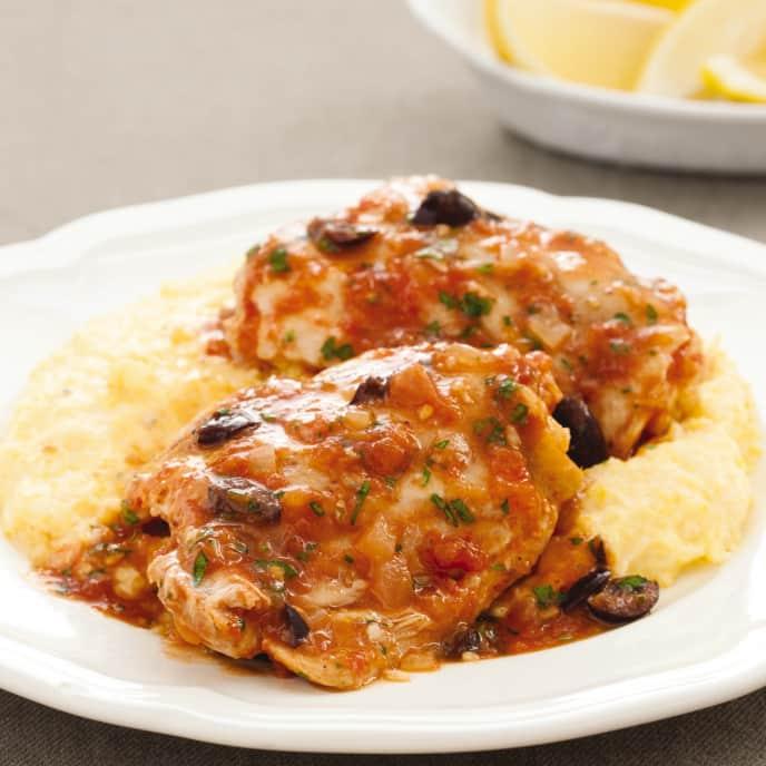 Slow-Cooker Chicken Provençal