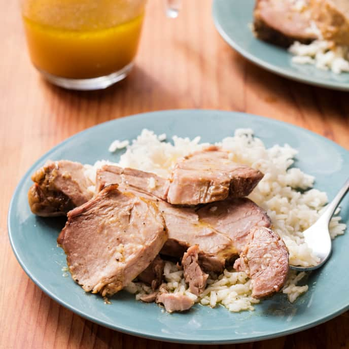 Slow-Cooker Cuban Pork Roast With Mojo Sauce