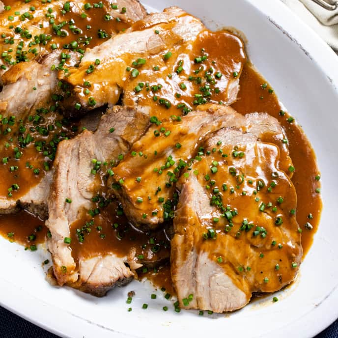 Slow-Cooker Apple Cider Pork