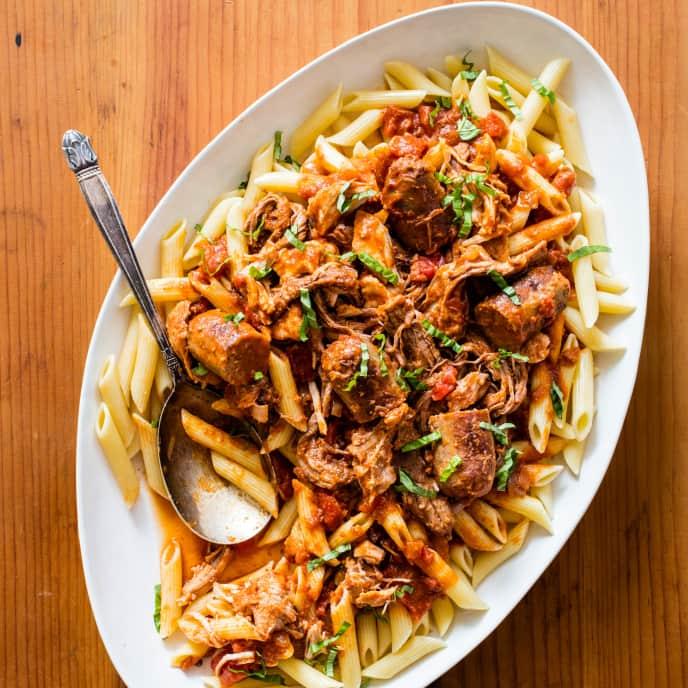 Slow-Cooker Italian Sunday Gravy