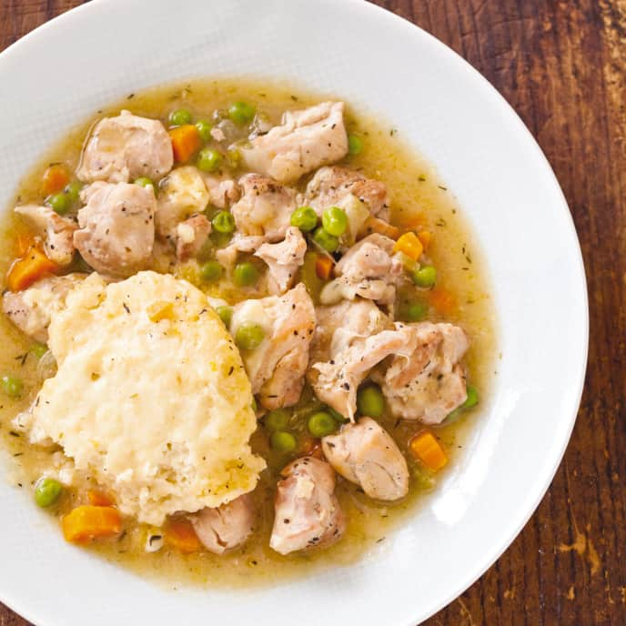 Slow-Cooker Old-Fashioned Chicken and Dumplings