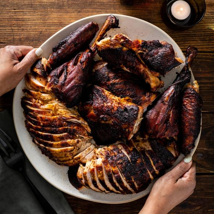 Rodney Scott's Holiday Smoked Turkey