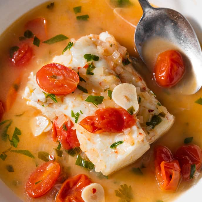 Pesce All'Acqua Pazza (Southern Italian Poached Fish)