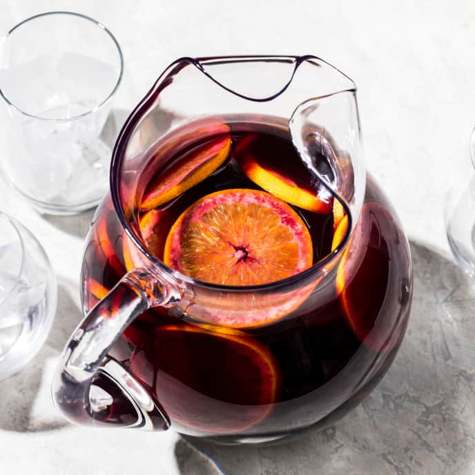 Classic Sangria for a Crowd