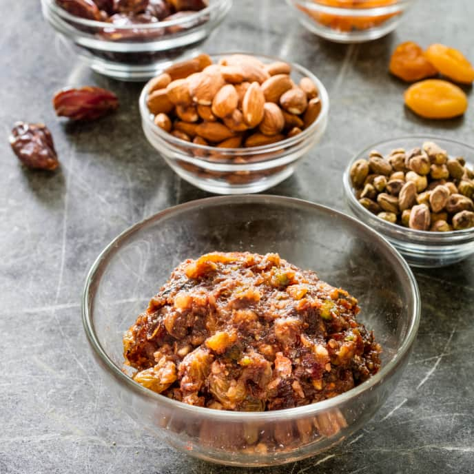 Spiced Fruit and Nut Conserve