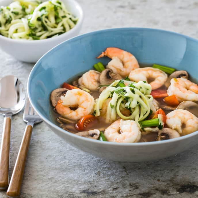 Slow-Cooker Spicy Thai Shrimp Soup