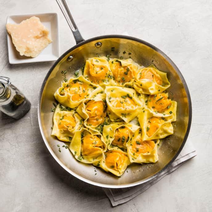 Squash-Filled Pasta