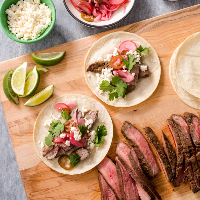 Air-Fryer Steak Tacos