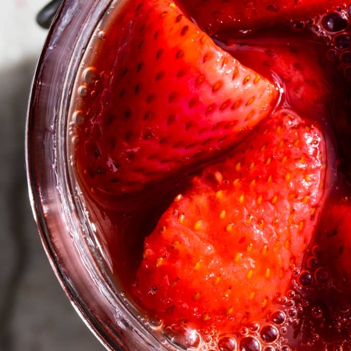 Strawberry-Basil Compote