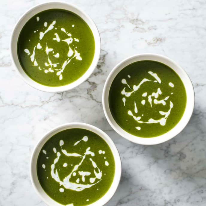 Super Greens Soup for Instant Pot Ace Blender