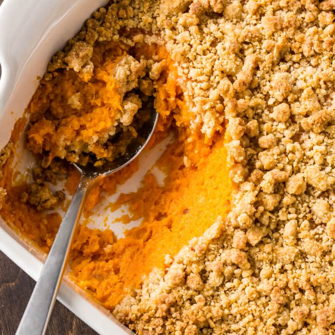 Sweet Potato Crunch