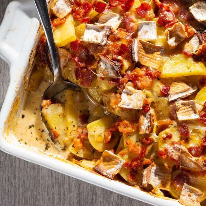 Tartiflette (French Potato and Cheese Gratin)