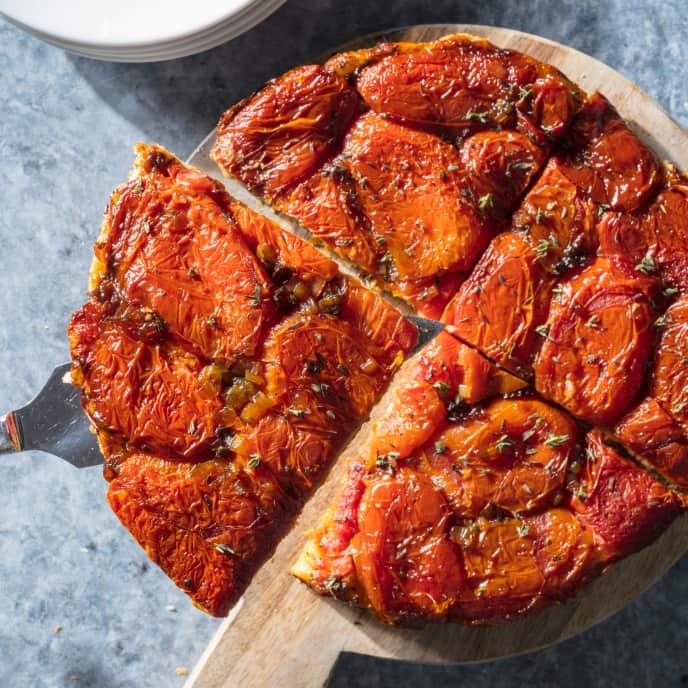 Upside-Down Tomato Tart