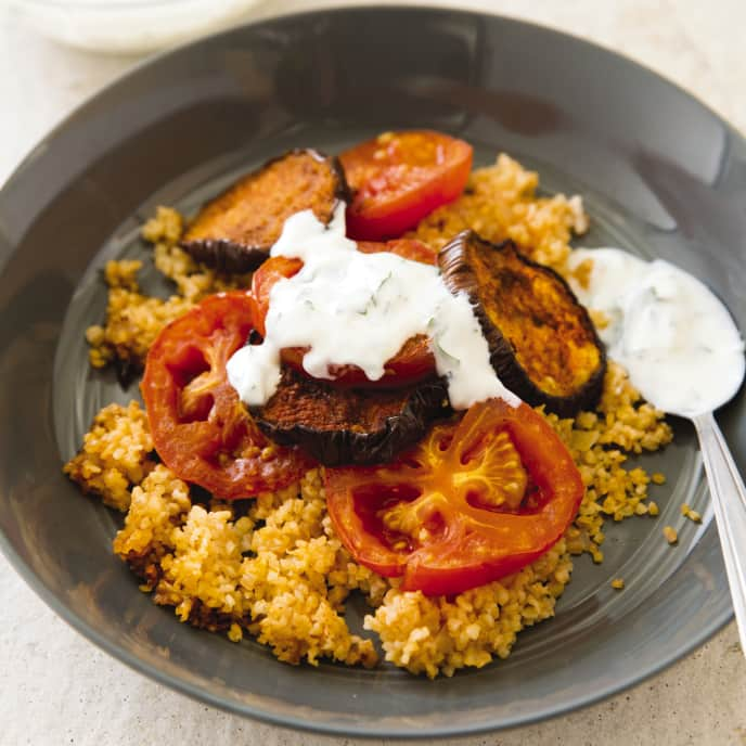 Slow-Cooker Turkish Eggplant Casserole