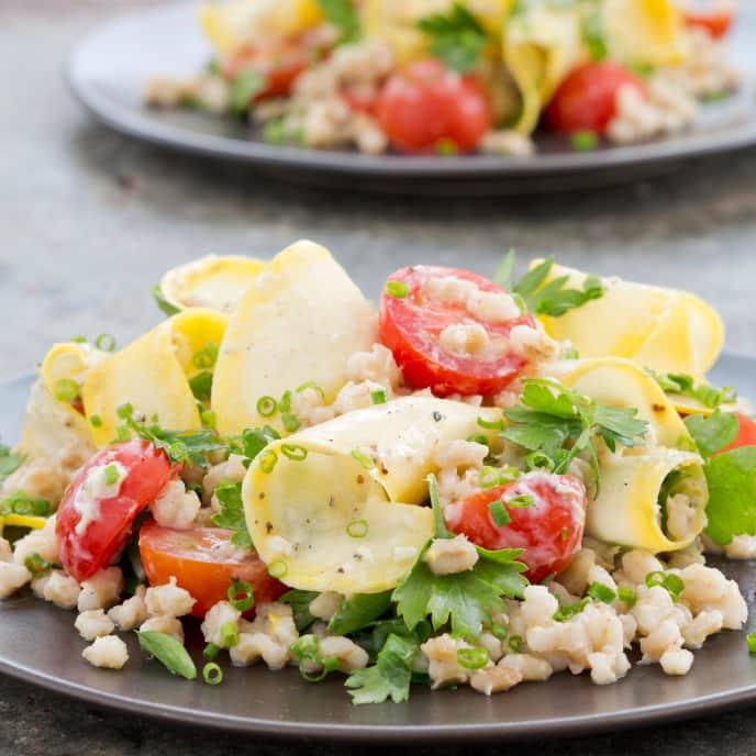 Slow-Cooker Summer Barley Salad