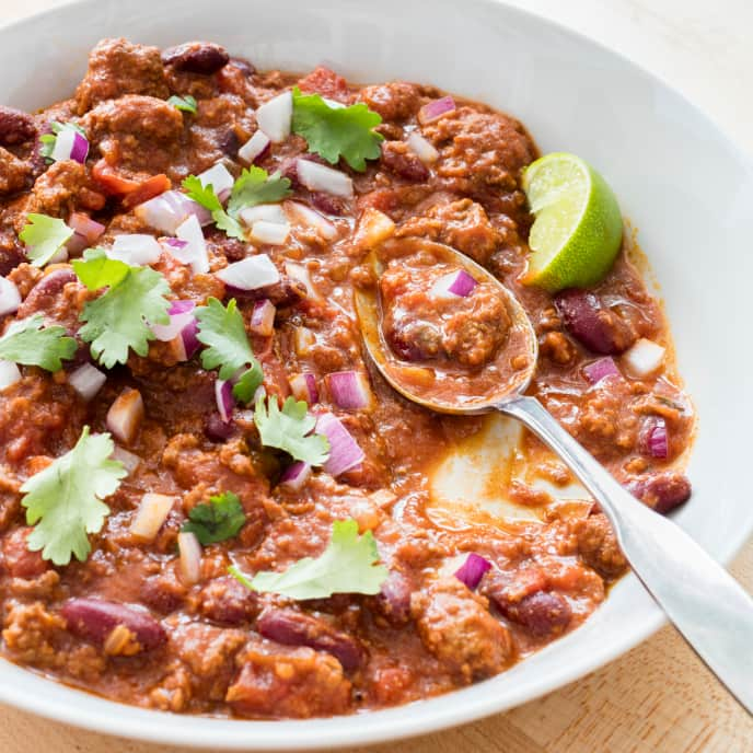 Slow-Cooker Classic Beef Chili