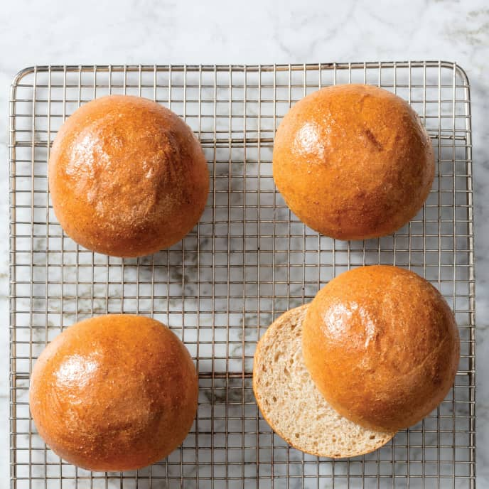 Whole-Wheat Buns