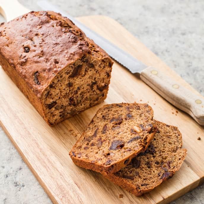 Whole-Wheat Date-Nut Bread