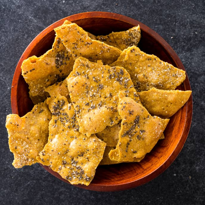 Whole-Wheat Seeded Crackers