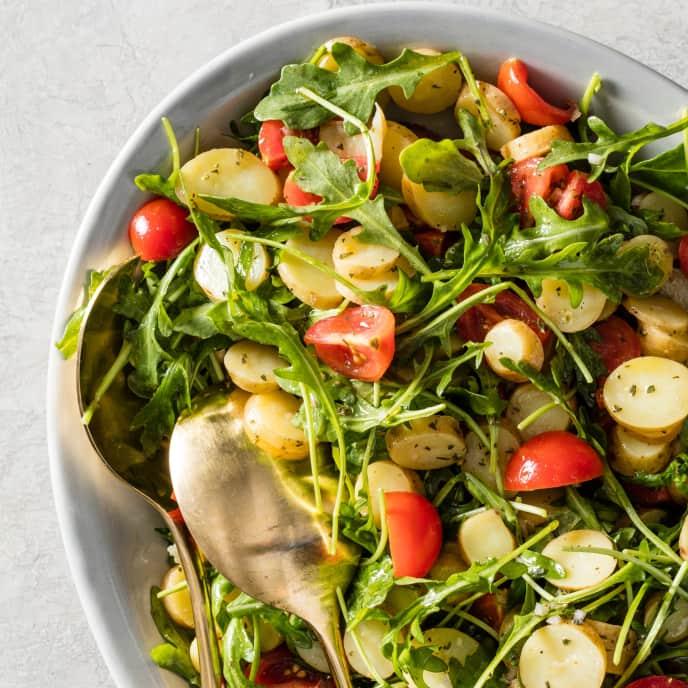 Fingerling Potato and Arugula Salad