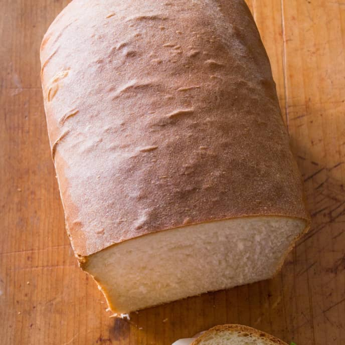American Loaf Bread - Food Processor Method