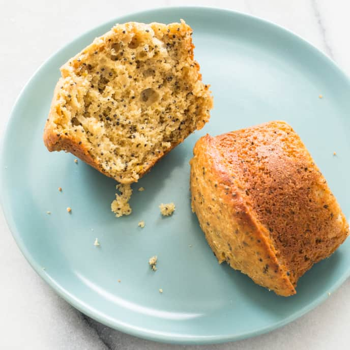 Anise–Poppy Seed Muffins (Reduced Sugar)