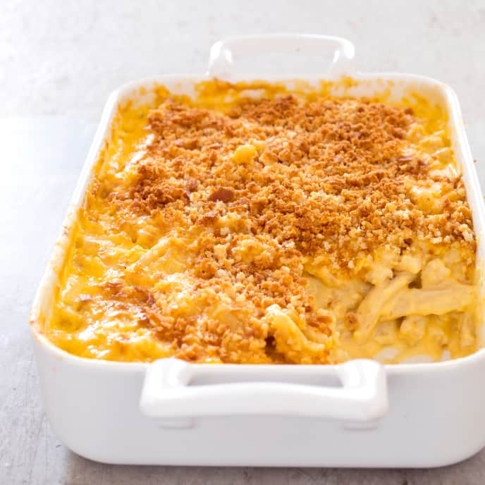Gluten-Free Baked Macaroni and Cheese