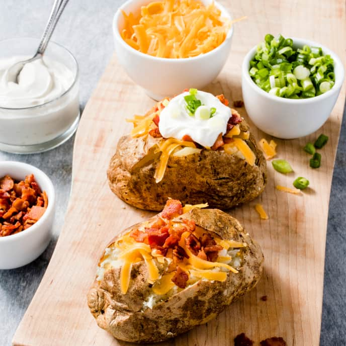 Air-Fryer Baked Potatoes