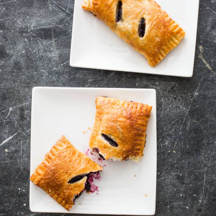 Blueberry Turnovers (Reduced Sugar)