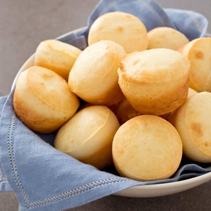 Gluten-Free Brazilian Cheese Bread Rolls