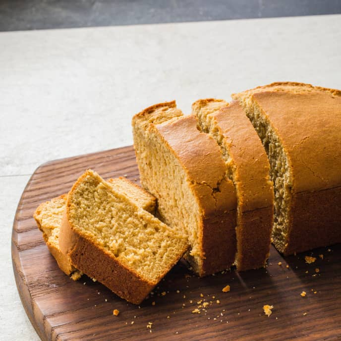 Chai–Spiced Pound Cake (Reduced Sugar)