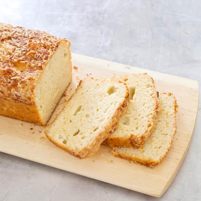 Gluten-Free Cheddar Cheese Bread