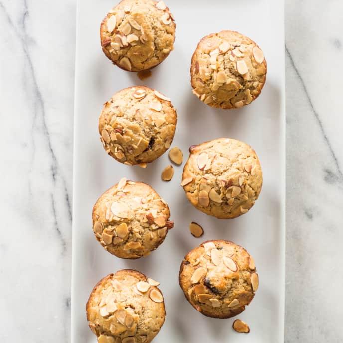 Cherry–Almond Muffins (Reduced Sugar)