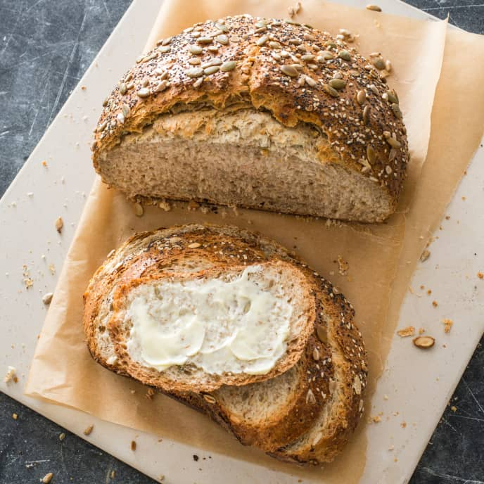 Seeded Seven-Grain Bread
