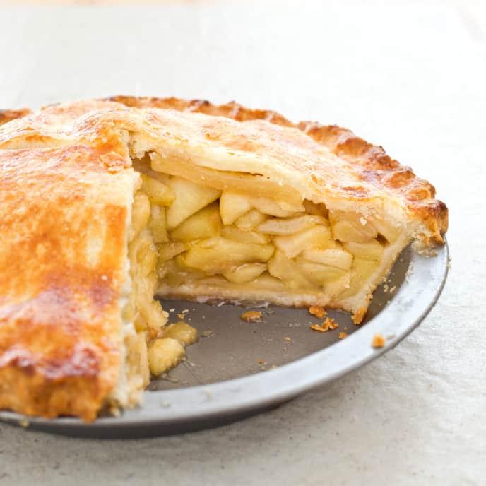 Gluten-Free Deep-Dish Apple Pie
