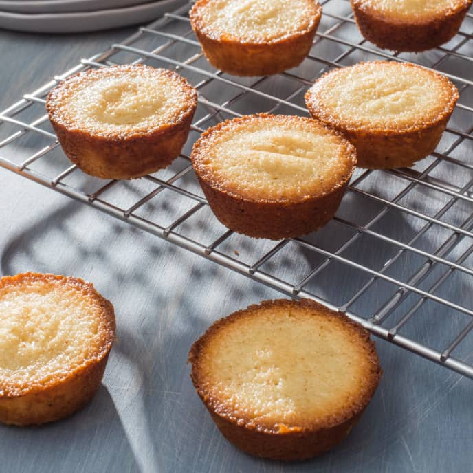 Financiers (Almond–Browned Butter Cakes)