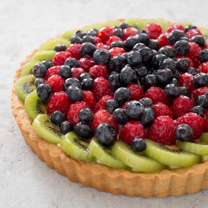 Gluten-Free Fresh Fruit Tart