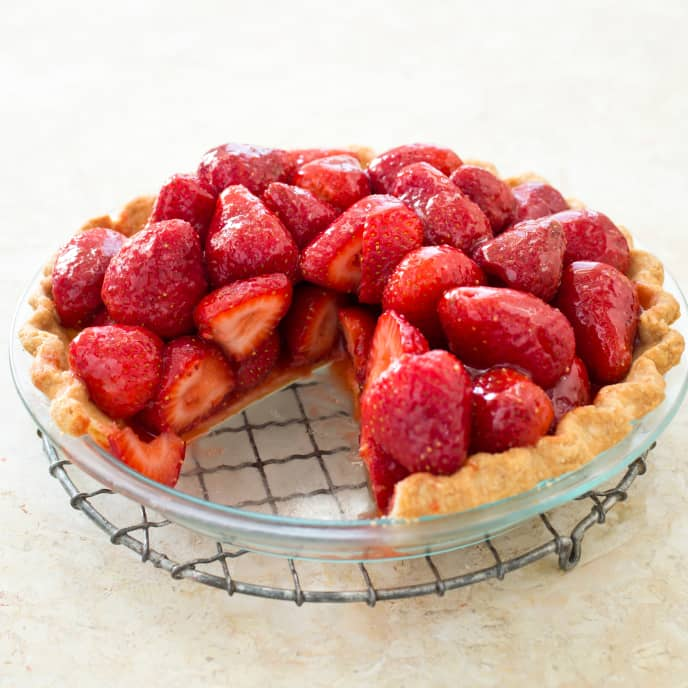 Gluten-Free Fresh Strawberry Pie