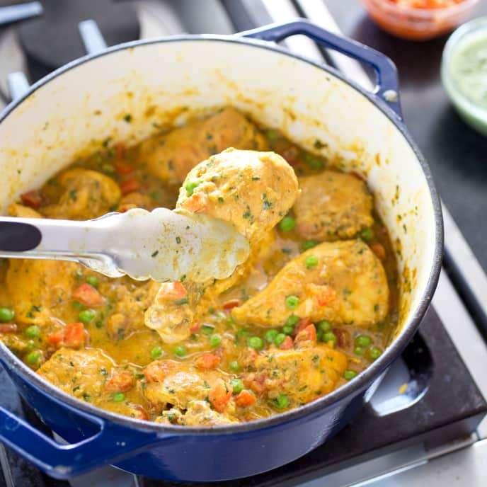 One-Pot Indian-Style Chicken Curry