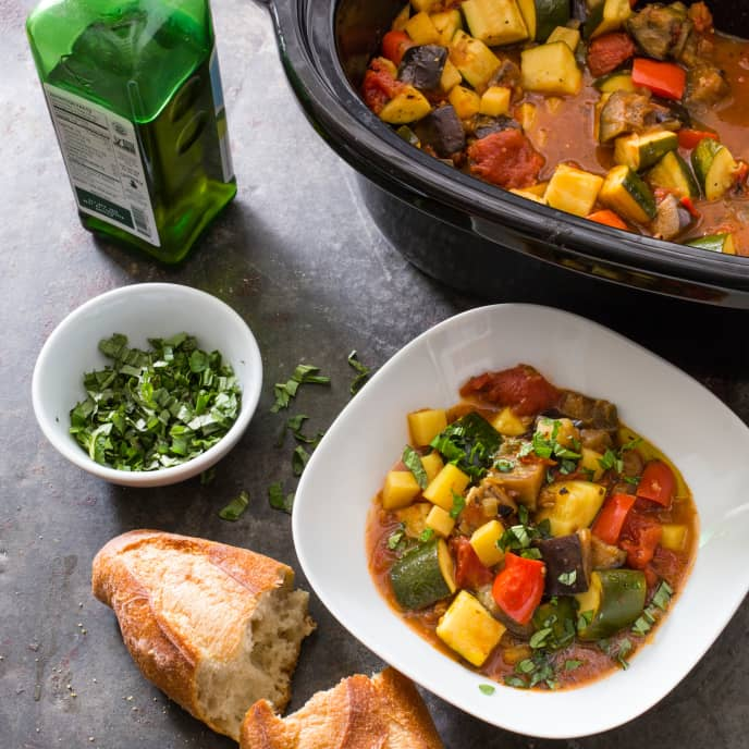 Slow-Cooker Italian Vegetable Stew