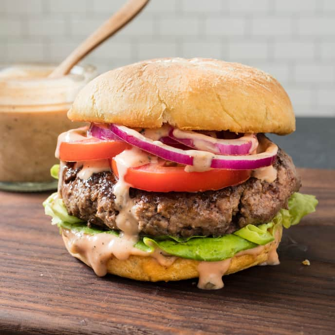 Juicy Pub-Style Burgers for Two
