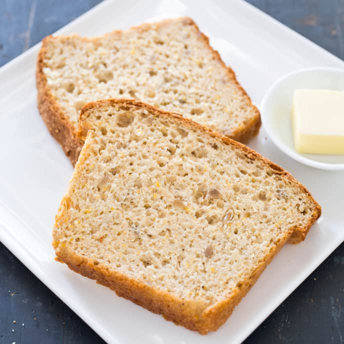 Gluten-Free Multigrain Sandwich Bread