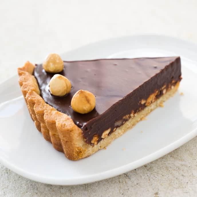 Gluten-Free Nutella Tart
