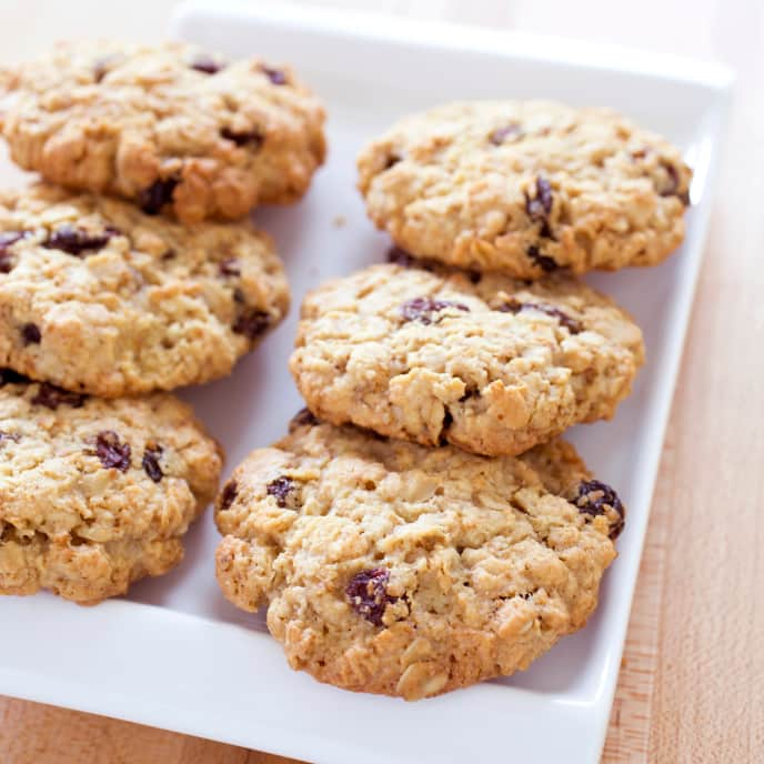 Gluten-Free Oatmeal-Raisin Cookies