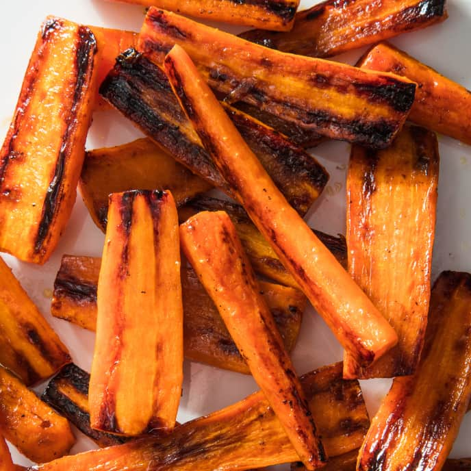 Skillet-Roasted Carrots