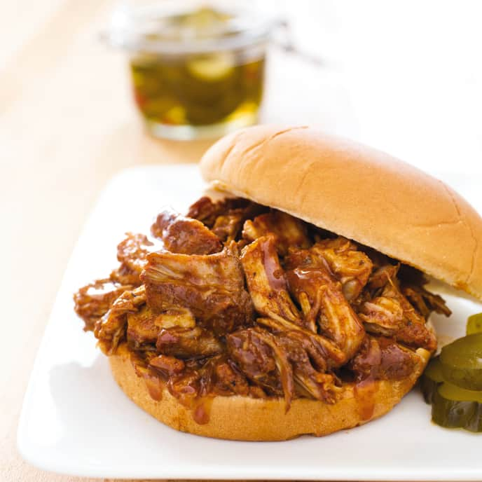 Slow-Cooker Easy Pulled Pork for Two