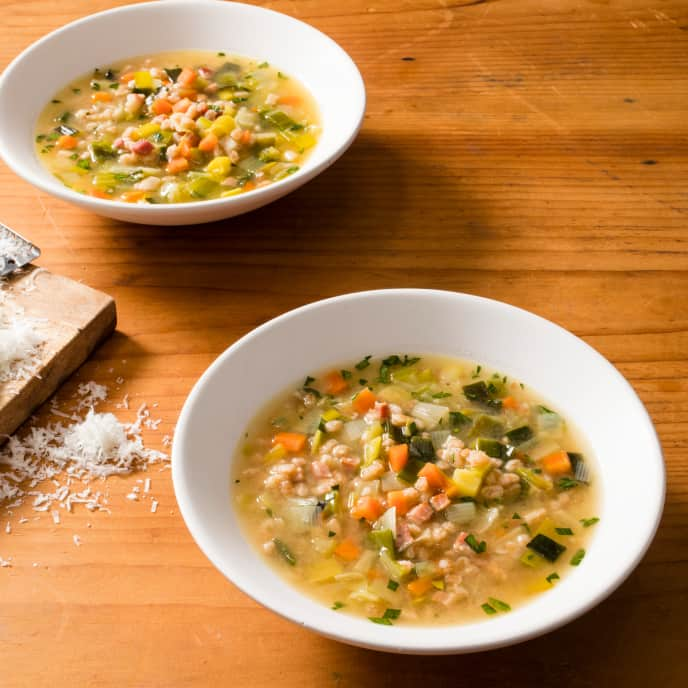 Vegetable and Farro Soup