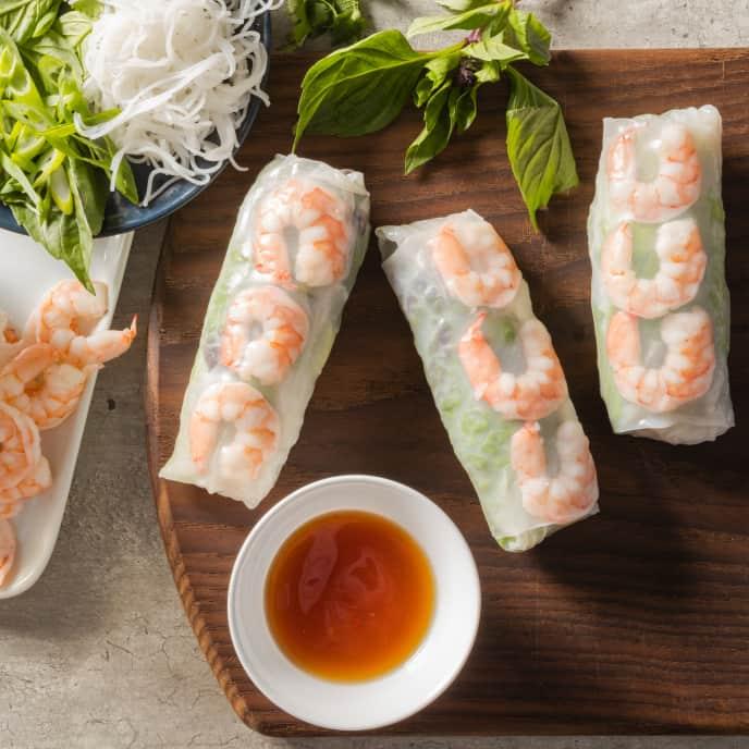 Gỏi Cuốn (Vietnamese Summer Rolls)